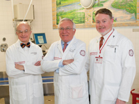 Drs. Yurt, Bessey, and Gallagher
