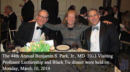 Ben Park 2013 Dinner photos
