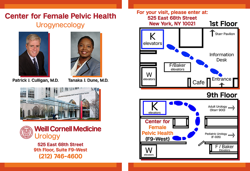 Urogynecology/Female Pelvic Health | Weill Cornell Medicine